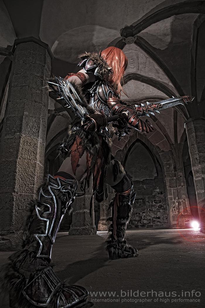 Bộ ảnh cosplay Barbarian tuyệt vời của Kamui - Ảnh 16