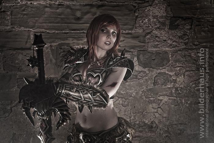 Bộ ảnh cosplay Barbarian tuyệt vời của Kamui - Ảnh 19