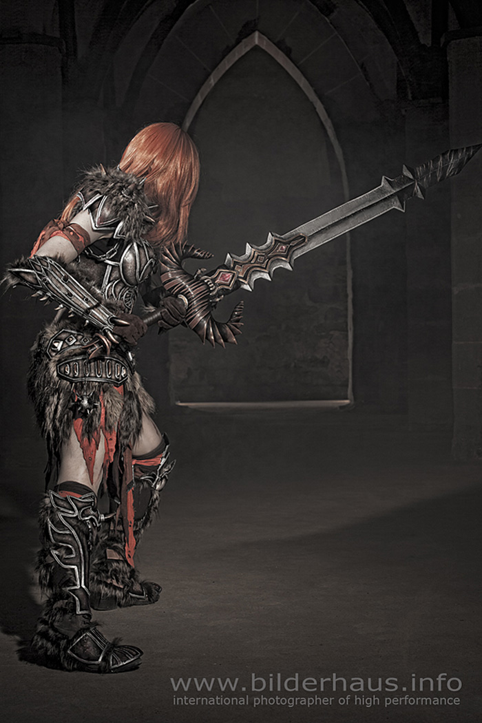 Bộ ảnh cosplay Barbarian tuyệt vời của Kamui - Ảnh 20
