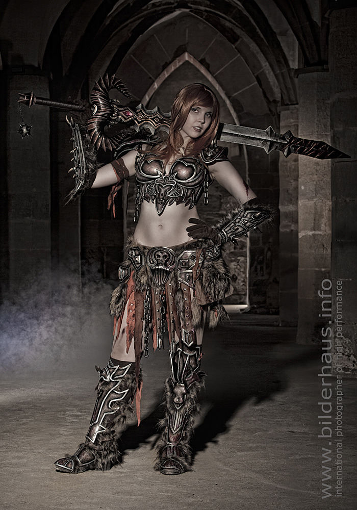 Bộ ảnh cosplay Barbarian tuyệt vời của Kamui