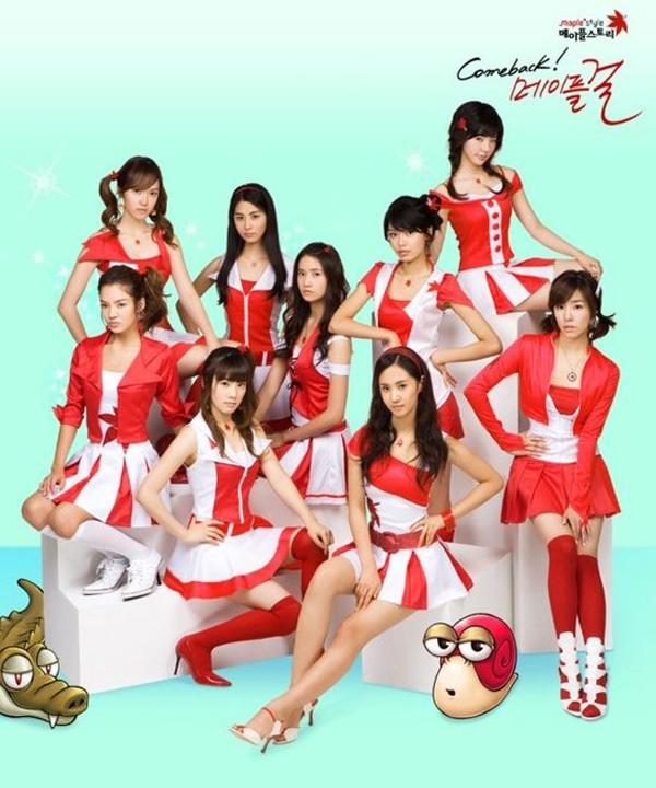 Girls Generation rực rỡ trong cosplay MapleStory - Ảnh 4