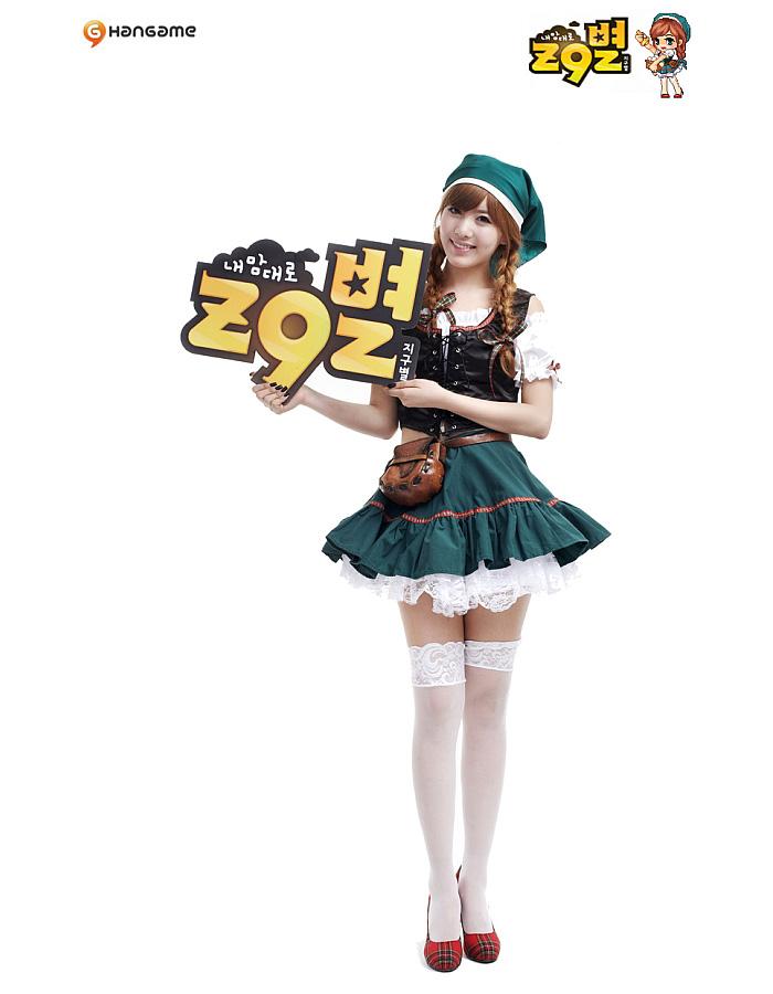 """Ngắm T-ara """"nhí nhố"""" trong cosplay Z9 - Ảnh 6"""