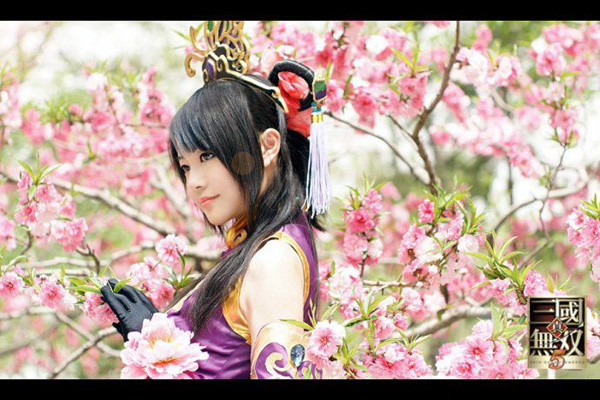Điêu Thuyền e ấp trong cosplay Dynasty Warriors 5