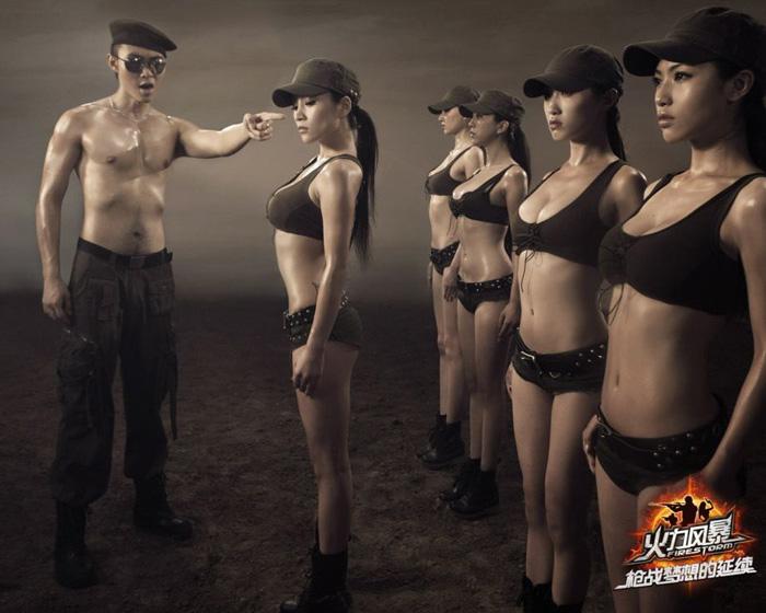 Dàn mỹ nữ nóng bỏng của Hỏa Lực Phong Bạo - Ảnh 3