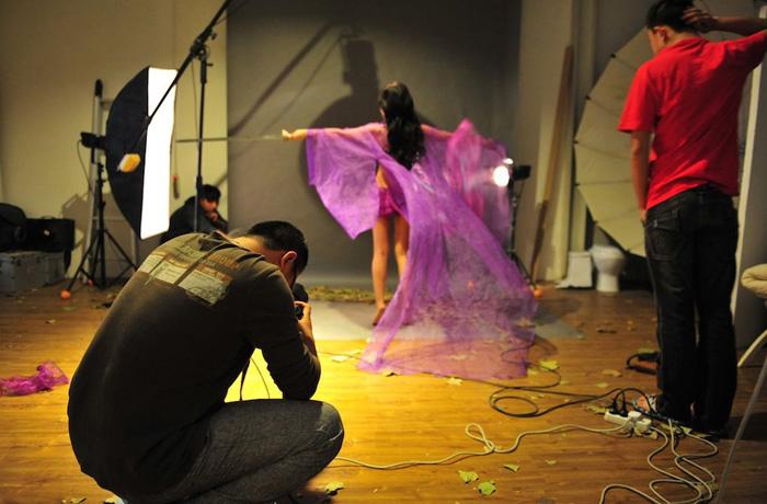 Loạt ảnh hậu trường cực hot của Thiện Nữ U Hồn - Ảnh 1