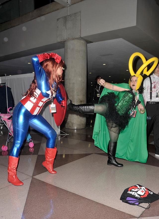 Loạt cosplay ấn tượng tại New York Comic Con 2012 - Ảnh 12