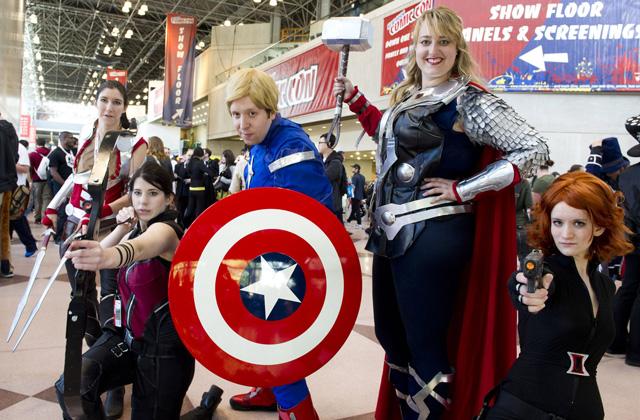 Loạt cosplay ấn tượng tại New York Comic Con 2012 - Ảnh 32