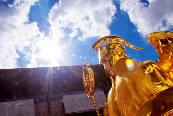 Nữ thần Athena của Saint Seiya Online xuất hiện - Ảnh 1