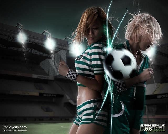 Miss A cá tính trong ảnh quảng cáo Free Style Football - Ảnh 1
