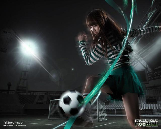 Miss A cá tính trong ảnh quảng cáo Free Style Football - Ảnh 2