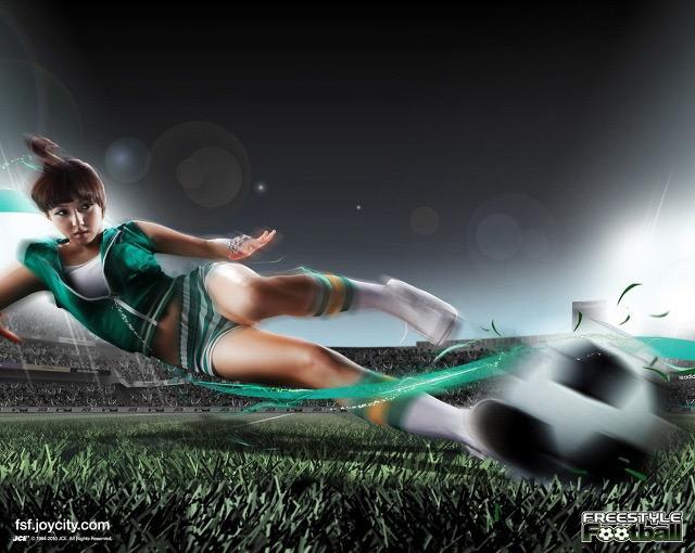 Miss A cá tính trong ảnh quảng cáo Free Style Football - Ảnh 4