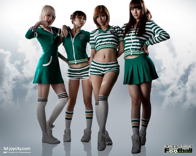 Miss A cá tính trong ảnh quảng cáo Free Style Football - Ảnh 5