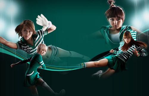 Miss A cá tính trong ảnh quảng cáo Free Style Football - Ảnh 7