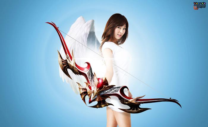 Gina Choi gợi cảm với cosplay Maestia Online - Ảnh 3