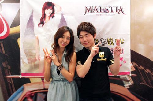 Gina Choi gợi cảm với cosplay Maestia Online - Ảnh 10