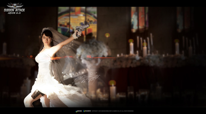 Ngắm cô dâu Suzy (Miss A) trong Sudden Attack 2.0 - Ảnh 3