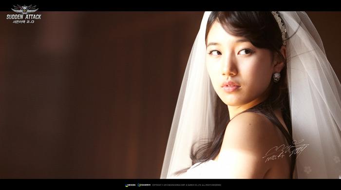 Ngắm cô dâu Suzy (Miss A) trong Sudden Attack 2.0 - Ảnh 4