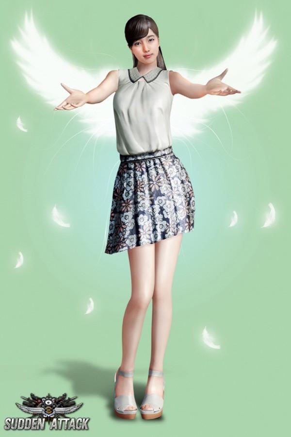 Ngắm cô dâu Suzy (Miss A) trong Sudden Attack 2.0 - Ảnh 18