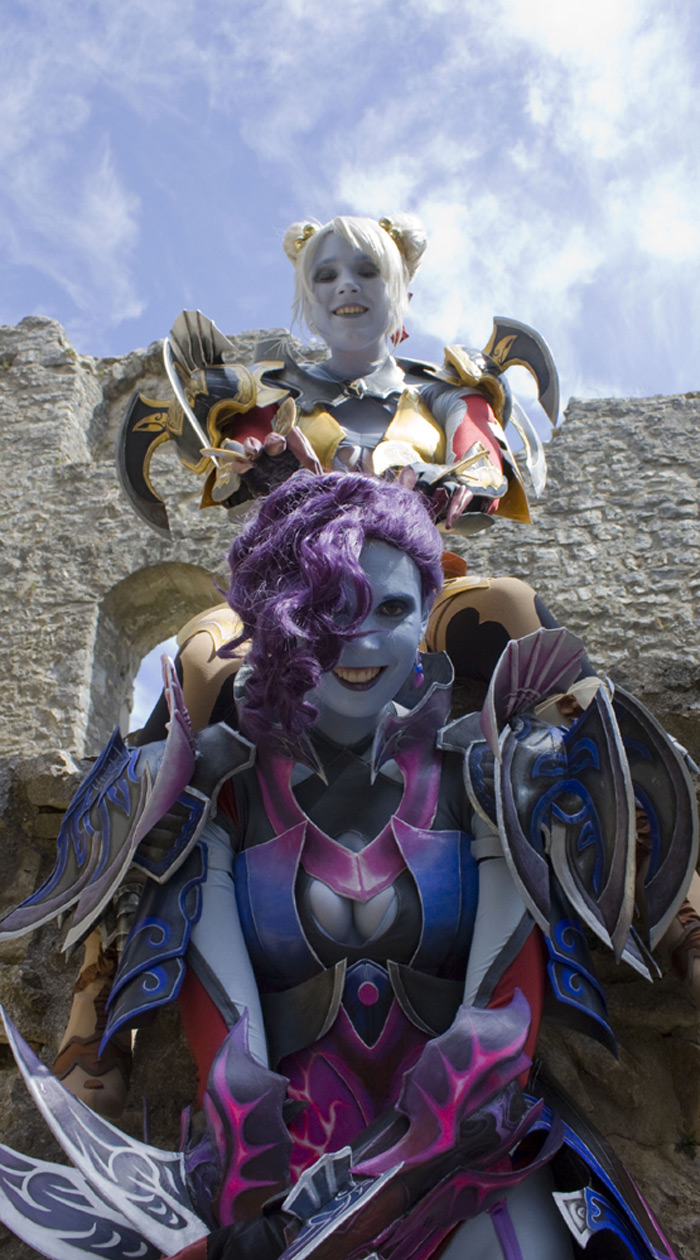 Svetlana Quindt rạng rỡ trong cosplay Asmodian (Aion) - Ảnh 7