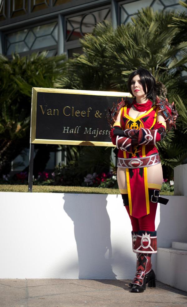 Kamui và bộ ảnh cosplay tuyệt đẹp về Vanessa VanCleef - Ảnh 3