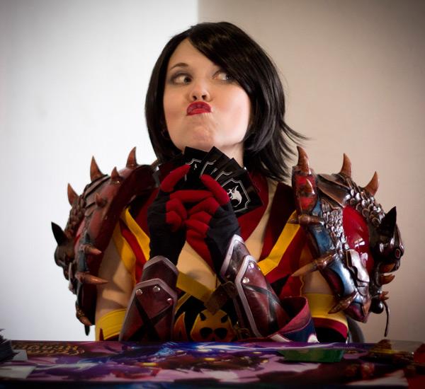 Kamui và bộ ảnh cosplay tuyệt đẹp về Vanessa VanCleef - Ảnh 4