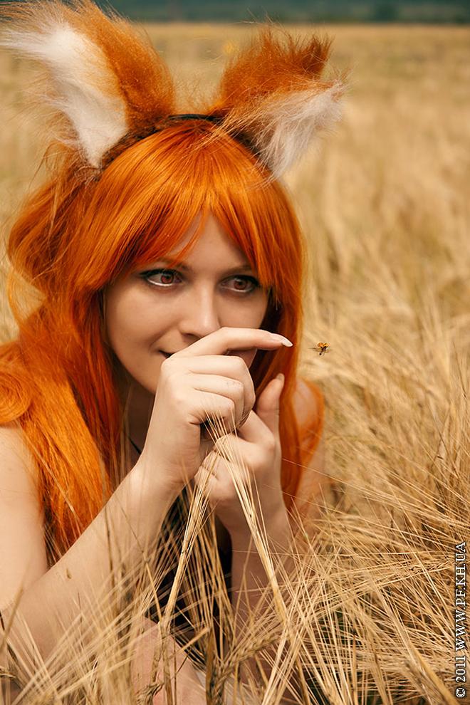 """Cosplay thần sói Holo """"nóng bỏng"""" trong Spice & Wolf - Ảnh 4"""