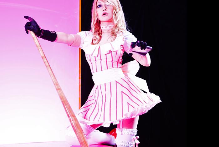 Rợn người với cosplay Bad Girl trong No More Heroes - Ảnh 4