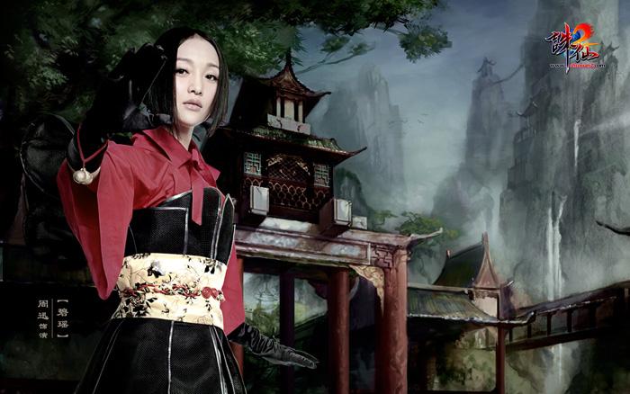 Châu Tấn rạng ngời trong ảnh quảng bá Tru Tiên 2 - Ảnh 7