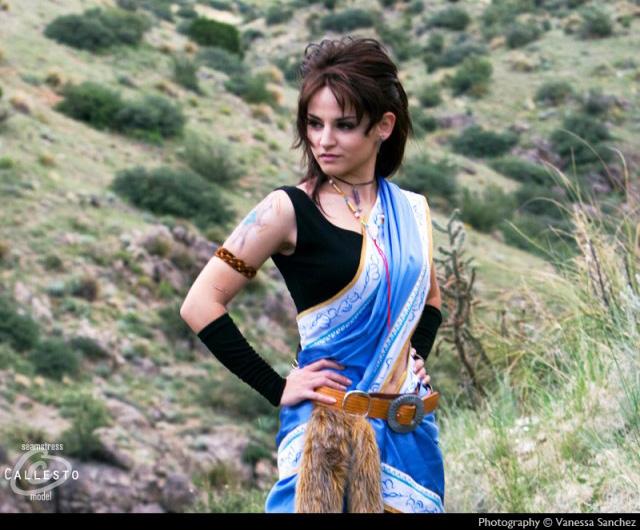 Cosplay Oerba Yun Fang trong Final Fantasy XIII - Ảnh 5