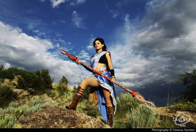 Cosplay Oerba Yun Fang trong Final Fantasy XIII - Ảnh 7