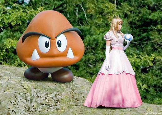 Công chúa Peach đẹp rạng ngời ngoài đời thực - Ảnh 7