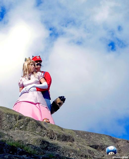 Công chúa Peach đẹp rạng ngời ngoài đời thực - Ảnh 9