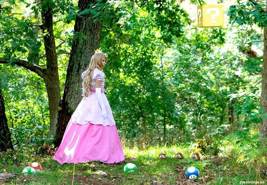 Công chúa Peach đẹp rạng ngời ngoài đời thực - Ảnh 12