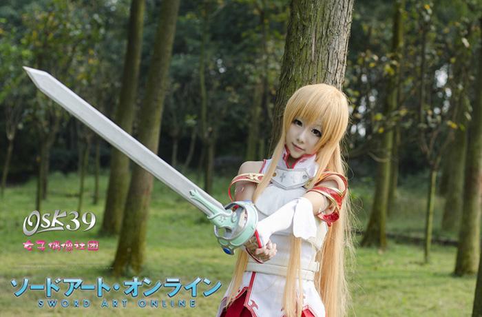 Cosplay Sword Art Online cực kỳ đáng yêu