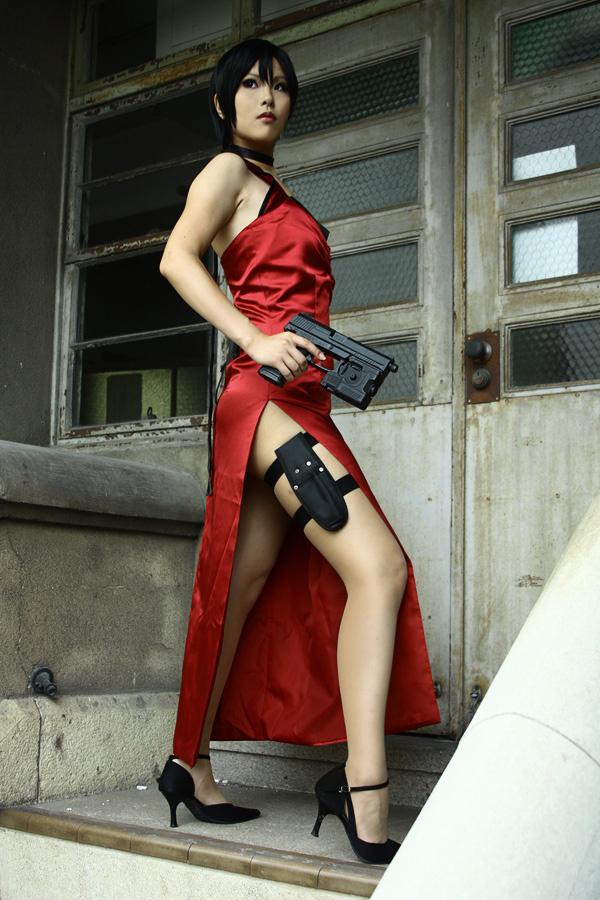 Kasane sexy trong trang phục siêu điệp viên Ada Wong - Ảnh 7