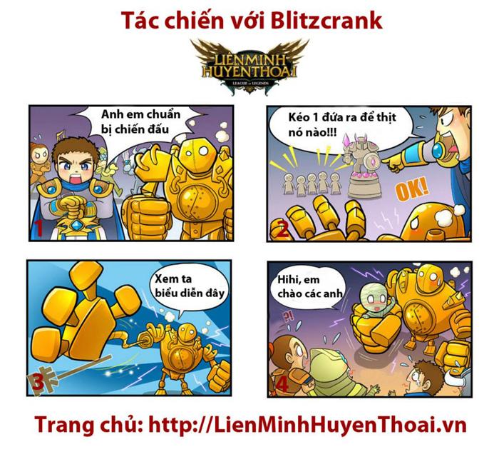 Comic LMHT: Tác chiến với Blitzcrank