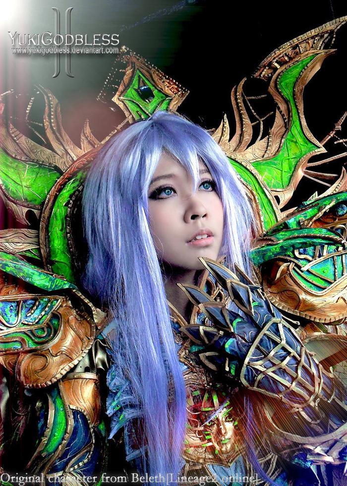 """Ngắm """"siêu cosplay"""" LineAge II của Yuki Godbless - Ảnh 1"""
