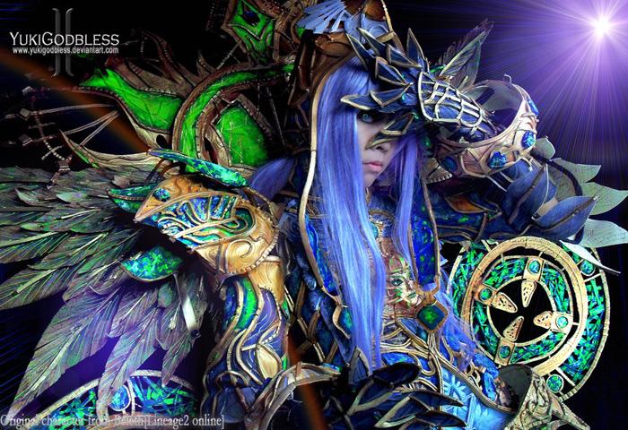 """Ngắm """"siêu cosplay"""" LineAge II của Yuki Godbless - Ảnh 3"""