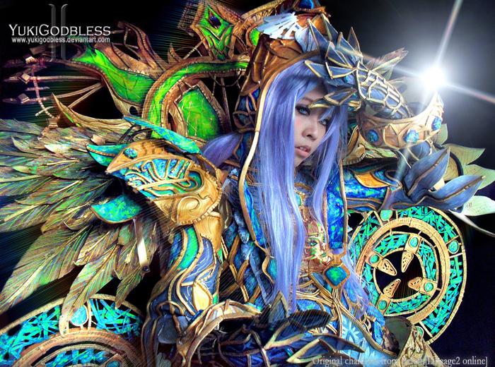 """Ngắm """"siêu cosplay"""" LineAge II của Yuki Godbless - Ảnh 4"""