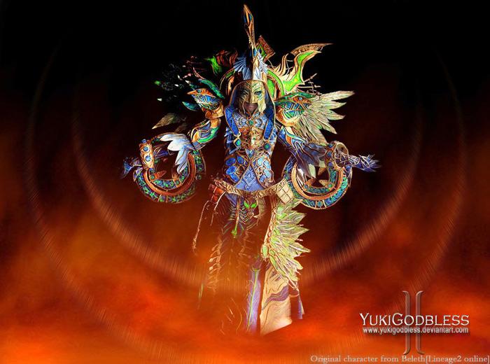 """Ngắm """"siêu cosplay"""" LineAge II của Yuki Godbless - Ảnh 5"""