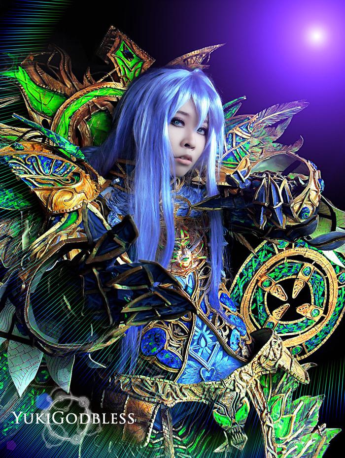"""Ngắm """"siêu cosplay"""" LineAge II của Yuki Godbless - Ảnh 7"""