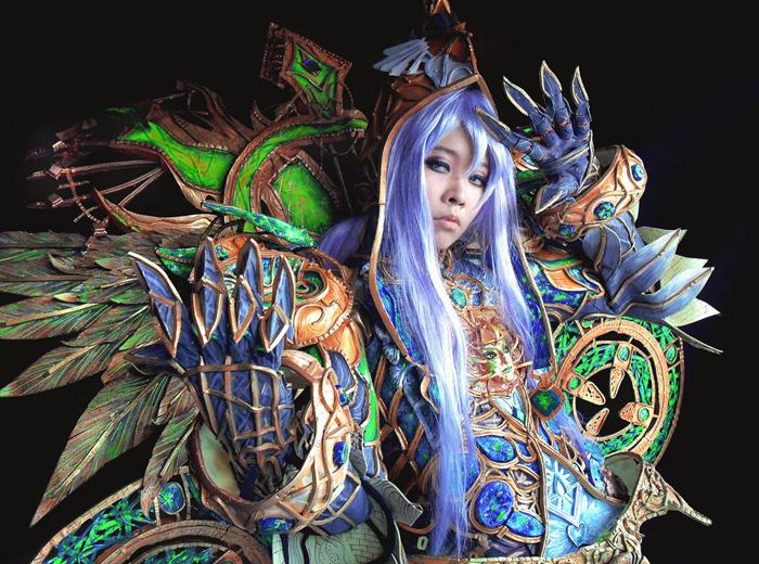 """Ngắm """"siêu cosplay"""" LineAge II của Yuki Godbless - Ảnh 11"""