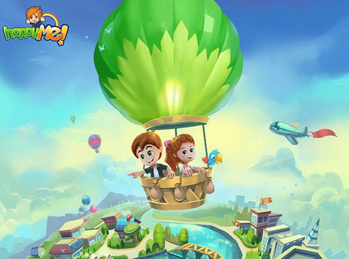 """Hình nền """"game thuần Việt"""" HappyMe"""