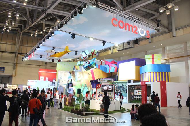Gstar 2012: Tham quan gian hàng của Com2uS - Ảnh 2