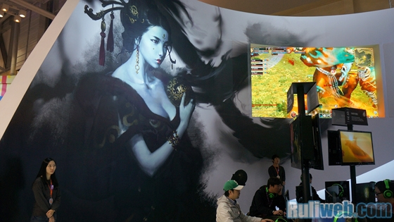 Gstar 2012: Tham quan gian hàng của Hangame - Ảnh 20
