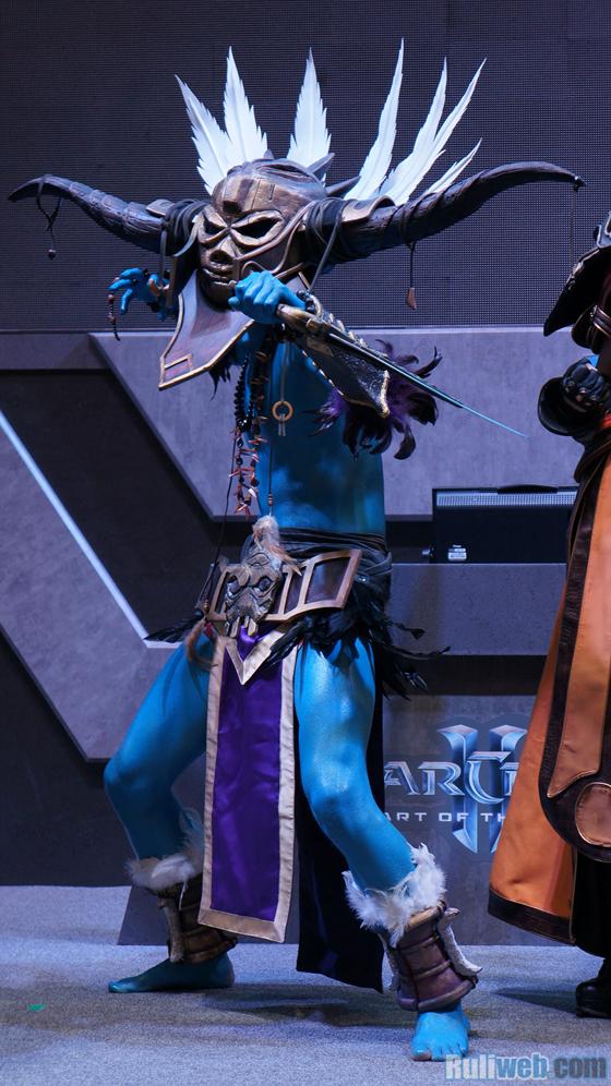 Blizzard Entertaiment trình diễn cosplay tại Gstar 2012 - Ảnh 5