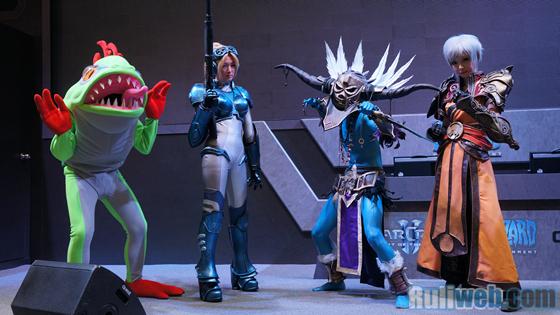 Blizzard Entertaiment trình diễn cosplay tại Gstar 2012 - Ảnh 7