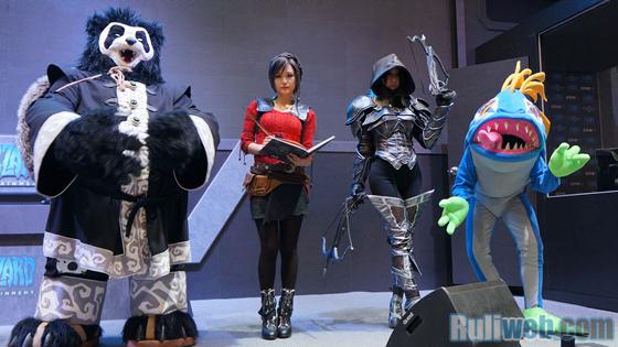 Blizzard Entertaiment trình diễn cosplay tại Gstar 2012 - Ảnh 8