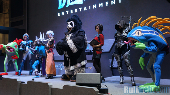 Blizzard Entertaiment trình diễn cosplay tại Gstar 2012 - Ảnh 10