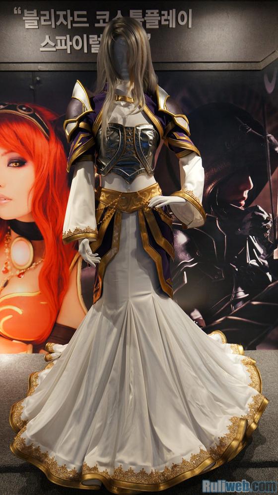 Blizzard Entertaiment trình diễn cosplay tại Gstar 2012